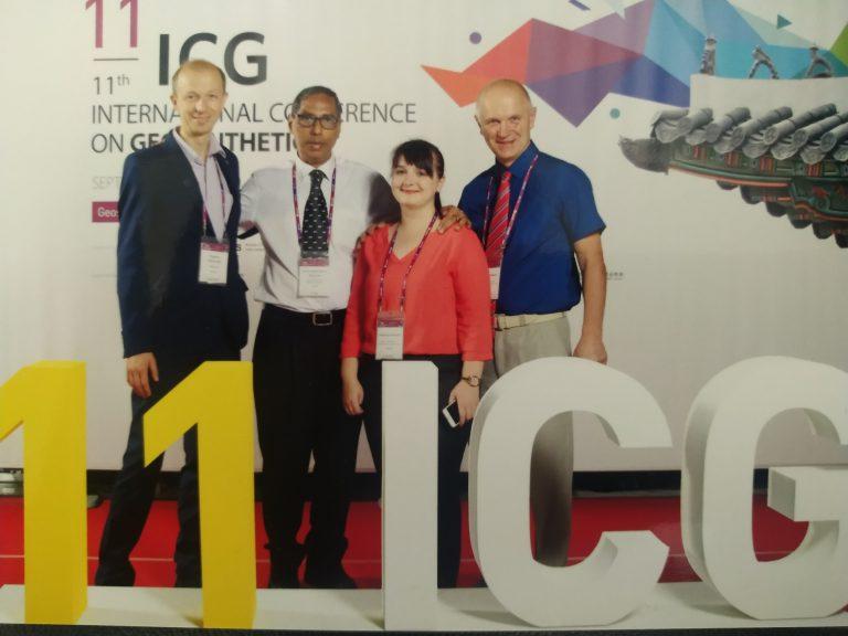 11 Международная конференция: «Геосинтетические материалы для устойчивого развития» в Сеуле.